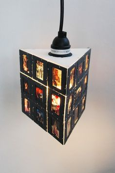 slides lamp #light #lighting #upcycle #recycle #repurpose #lamp #chandelier #lite #lampshade