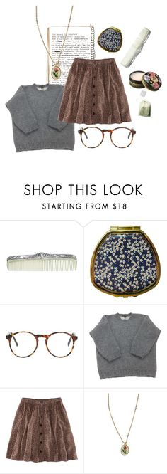 """mary"" by clmntiny ❤ liked on Polyvore featuring Anna Sui, Andrea Garland, Louis Vuitton, H&M and Urban Renewal"