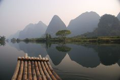Guilin, China- been there and it totally looks just like that!