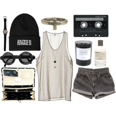 Untitled #295 by somefashionblogger on Polyvore featuring moda, Ted Baker, Zad, The Ragged Priest, Le Labo, Byredo, Cheap Monday, Levi's and CASSETTE