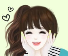 Enakei wallpapers by on We Heart It Hug Pictures, Cute Profile Pictures, Lovely Girl Image, Girls Image, Ulzzang, Cute Cartoon Girl, Sweet Girls, Pretty Girls, Cute Wallpapers
