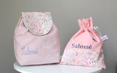 Drawstring Backpack, Creations, Etsy Seller, Backpacks, Couture, Sewing, Handmade, Baby Ideas, Bb