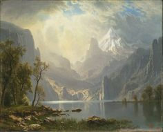 Albert Bierstadt Paintings on