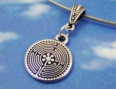 Labyrinth Pendant - pretty!