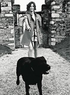 Keira Knightley in Vogue Italia by Ellen von Unwerth