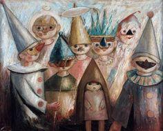 Tadeusz Makowski -Maskerada / Maquerade