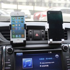 Universal Stand Car Holder For Iphone 6/Plus 5s 4 Car Air Vent Mount Holder GPS Accessories Stand For Your Mobile Phones Holders