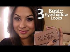 3 Basic Looks - Naked Basics Palette tutorials