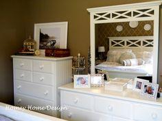 decorate dresser top | Bedroom Dresser Decorating Ideas
