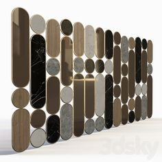models: Other decorative objects - Wall partition Wall Partition Design, Divider Design, High Ceiling Living Room, Living Room Partition, Folding Screen Room Divider, Diy Room Divider, Bar Design, Foyer Design, Plywood Furniture