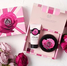 Give a charming body care gift with our British Rose Collection!