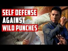 Self Defense Against Wild Punches - Blind Defense Strategy Wing Chun Martial Arts, Mixed Martial Arts, Martial Arts Techniques, Self Defense Techniques, Martial Arts Workout, Martial Arts Training, Bruce Lee, Mma, Kung Fu Lessons