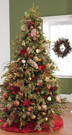 RAZ Imports December Dreams Decorated Christmas tree at www.shelleybhomeandholiday.com