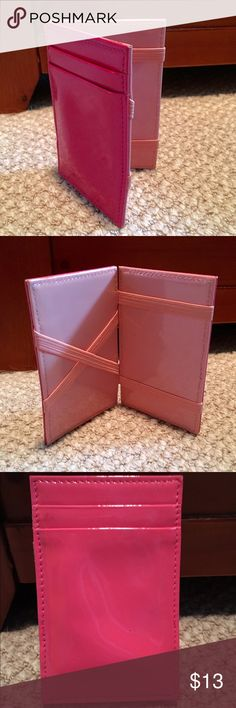 J. Crew Card Wallet In great condition besides a couple minor blemishes which the price reflects. Offers are welcome J. Crew Accessories Key & Card Holders