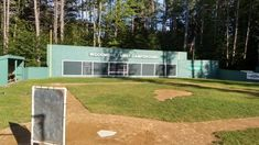 Wiffle Ball Field - Picture of Woodmore Campground, Rindge - Tripadvisor Backyard Baseball, Wiffle Ball, Fenway Park, New Hampshire, Trip Advisor, Club, Projects, Log Projects, Blue Prints