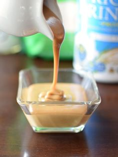 Instant Dairy-Free Sweetened Condensed Milk Alternative - You won't believe how quick and easy this recipe is: No cooking! Just 5 minutes! Vegan, dairy-free, gluten-free, nut-free, soy-free.