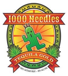 1,000 Needles Cactuar Fruit Tequila T-Shirt by Josh Legendre