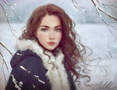 Fine Art and You: 15 Beautiful Digital Portrait Art Works by Selene