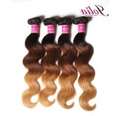 107.40$  Buy now - https://alitems.com/g/1e8d114494b01f4c715516525dc3e8/?i=5&ulp=https%3A%2F%2Fwww.aliexpress.com%2Fitem%2FBrazilian-virgin-hair-Ombre-Hair-T1b-4-27-4pcs-lot-Brazilian-body-wave-human-hair-extensions%2F32599591639.html - Jolia Brazilian virgin hair Ombre Hair T1b/4/27 4pcs Brazilian body wave human hair extensions style Ombre hair bundles deals 107.40$