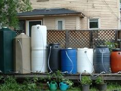 Water storage is very important in emergencies, and HOW you store it is just as important.