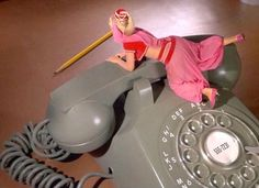 Don't be a telephone dumbbell! Rule # 12. Don't forget that your phone is, well, a phone