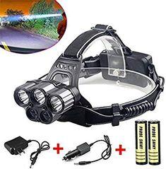 600LM COB LED Headlamp 3xAAA Headlight Adjustable Angle Outdoor Head Torch Lamp