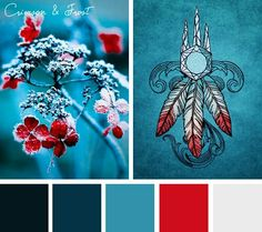 Add a touch of cool elegance with this Crimson and Frost color inspiration. Colour Pallette, Colour Schemes, Color Combos, Color Patterns, Pantone, Design Seeds, Design Graphique, Colour Board, World Of Color