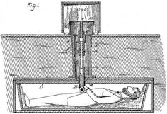 """In the 19th century, the """"safety coffin"""" was made so people who were mistakenly buried alive could ring for help."""