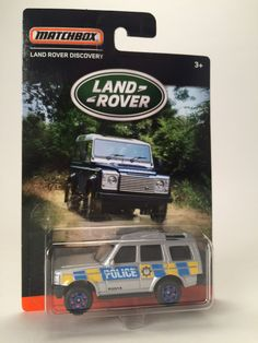 Matchbox Land Rover series Discovery police