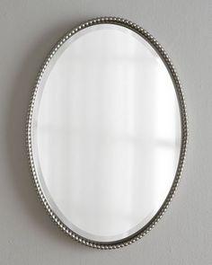 H6L8U Traci Oval Mirror