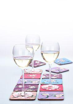 Cherry Blossom Coasters - Cedon
