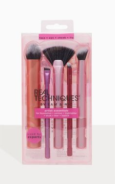 Products Real Techniques Artists Essentials Brush Set Wholesale Wedding Favors – Making Your Life a Gothic Makeup, Fantasy Makeup, Makeup Brush Set, Hair Brush, Mermaid Makeup, Fairy Makeup, Makeup Art, Real Techniques Brushes, Foundation Contouring