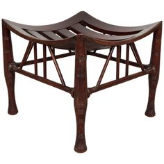 Egyptian Revival 'Thebes' Stool by Liberty