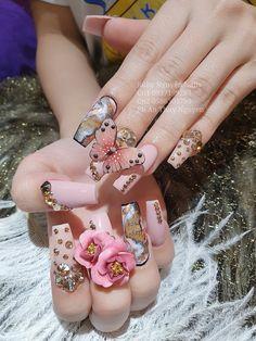 Cute Nails, Pretty Nails, Angel Nails, Crazy Nails, Nail Art Designs, Designer Nails, Nail Ideas, Hands, Inspiration