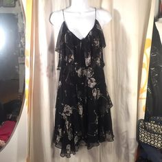 Rebecca Taylor Dandelion Tiered Dress Swarovski Has pretty Swarovski crystals, in awesome condition, no issues, worn once, you may want to dry clean it Rebecca Taylor Dresses Mini