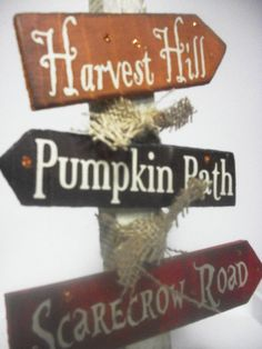 Hey, I found this really awesome Etsy listing at http://www.etsy.com/listing/158985488/cute-fall-sign-post