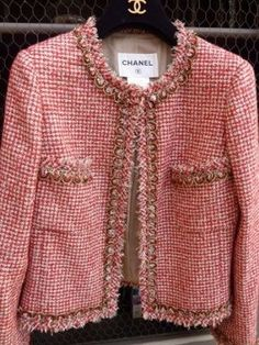believe Chanel's jacket is the most beautiful jacket any woman could wear., I believe Chanel's jacket is the most beautiful jacket any woman could wear., I believe Chanel's jacket is the most beautiful jacket any woman could wear. Chanel Couture, Sewing Clothes Women, Clothes For Women, Channel Jacket, Chanel Style Jacket, Chanel Tweed Jacket, Tweed Dress, Chanel Fashion Show, Mode Chanel