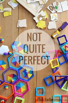 Being not quite perfect is not only ok, it actually makes me a good parent.