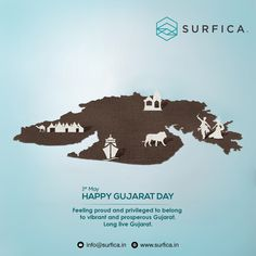 May Happy Gujarat Day Feeling proud and privileged to belong to vibrant and prosperous Gujarat. Lions Photos, Cheer Quotes, National Days, Web Design Agency, Social Media Design, Long Live, Welding, Creative Design, Milan