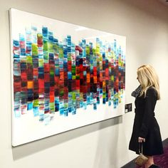 Stephanie Rivet's beautiful resined piece - escape from reality. Check out her work at http://www.stephanierivet.com/  #artresin #toronto #abstractart #lovely