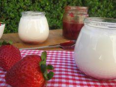 Iogurtes de Morango