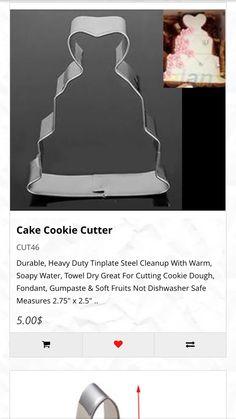 Cake cookie cutter