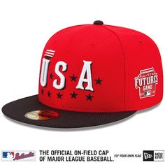 USA Authentic Collection All-Star Futures Game Diamond Era On-Field 59FIFTY Cap with 2015 All-Star Futures Game Patch - MLB.com Shop