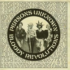 Person's Unknown / Bloody Revolution