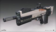 ArtStation - Destiny - The Taken King - Hakke Pulse Rifle, Mark Van Haitsma