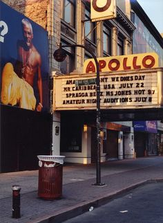 The Apollo, The Early 2000's.