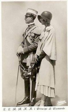 Umberto II, last king of Italy, and Maria Josè