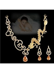"Rhinestone Wedding Jewelry Set from  ""Eric Dresses"" on discounted prices. Use coupon and promotional Codes."