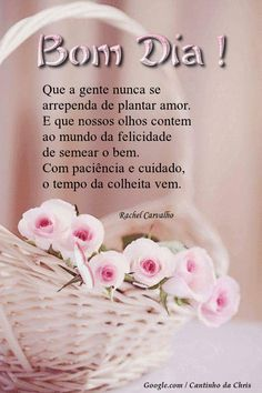 Foto com animação Special Words, Good Morning Messages, Holidays And Events, Happy Day, Place Card Holders, Thoughts, Floral, Facebook, Jesus Prayer