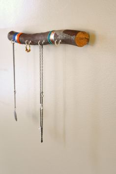 Hanging Branch Jewelry Organizer Made From A Tree Branch